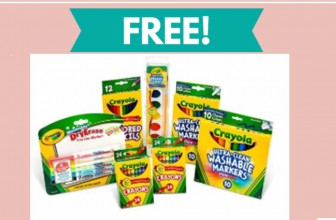FREE  Ultimate Crayola Bundle Freebie!