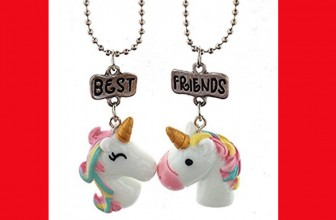 HOW CUTE! Unicorn Best Friend Necklaces ONLY $2.45 SHIPPED!