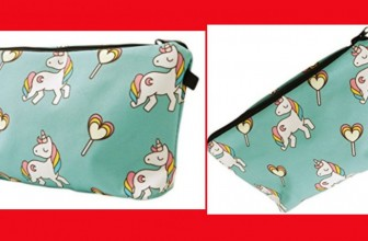 Super Cute UNICORN Cosmetic Bag or Purse ONLY $2.36 SHIPPED!