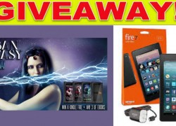 Enter to Win 3 Urban Fantasy Novel and a Kindle Fire!!