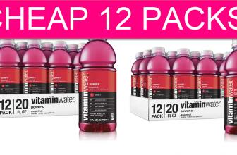 CHEAP Vitamin Water 12 Packs! FREE Shipping!