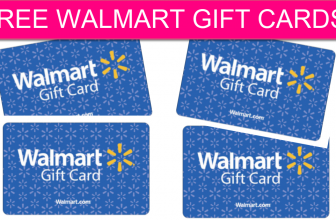 Walmart is Giving Away THOUSANDS of Gift Cards!