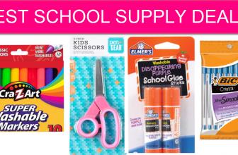 BIG LIST! Best School Supply Deals at Walmart!