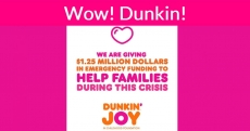WOW! Dunkin Donuts! Details inside….