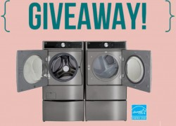Enter to win a New Washer and Dryer!!