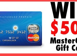 Enter To Win a $500 Pre-paid Mastercard.