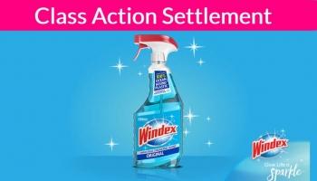 Windex Class Action Settlement! No Receipt Needed!