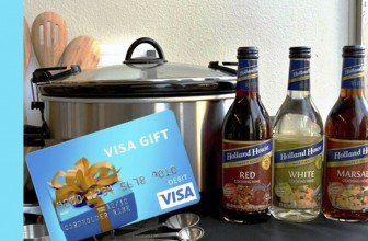 COOKING WINES & A $100 VISA GIFT CARD!