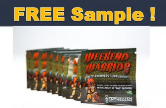 Free Weekend Warrior Party Recovery Pack!