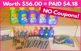 Worth $56.00 – PAID ONLY $4.18 = NO COUPONS ! { Also, CONTEST! }