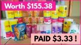 I Got $153.05 of Stuff FOR FREE! You have to SEE THIS!