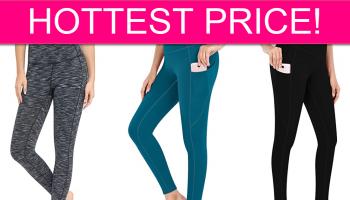 HOT PRICE! Yoga Pants CHEAP w/Code!