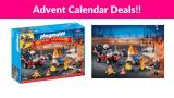 77% OFF! PLAYMOBIL Advent Calendar – Construction Site Fire Rescue