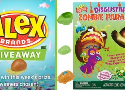 Win a Scientific Explorer Disgusting Zombie Parasites Kit