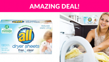 all Fabric Softener Dryer Sheets
