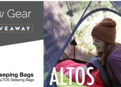 Win an Altos Mummy Sleeping Bag