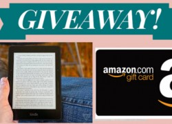 Win a Kindle Reader &  a $225 Amazon Gift card.