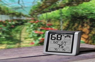 Humidity Monitor with Indoor Thermometer and Hygrometer $8.98 (Reg $29.99)