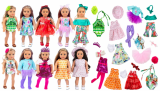 FLASH DEAL! 10 Complete Outfits – Fits American Girl and Other 18″ Dolls! *Ships FREE*