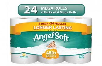24 Angel Soft Mega Rolls Only $14.20!