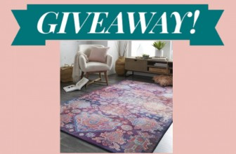 Win an An Area Rug from Prismatic collection!