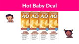 A+D Original Diaper Ointment, 4 Ounce (Pack of 4) DEAL!