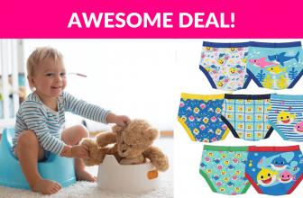 Baby Shark Boys' Toddler Underwear Multipacks
