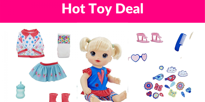 40% Off Baby Alive So Many Styles Baby (Blonde Straight Hair)