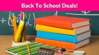 Back To School Deals – UPDATED 8/13/20