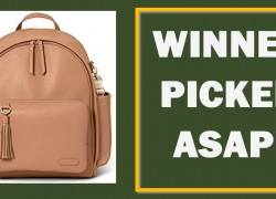 [ WINNER PICKED ASAP! ] Enter To Win a Skip Hop Backpack ( Worth $100 ! )