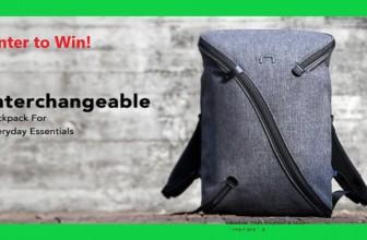 UNO II-Stylish Interchageble Backpack Giveaway