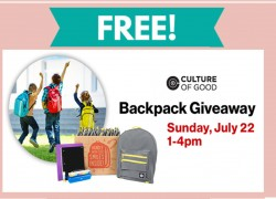 VERIZON FREE Backpack Giveaway on July 22nd  !