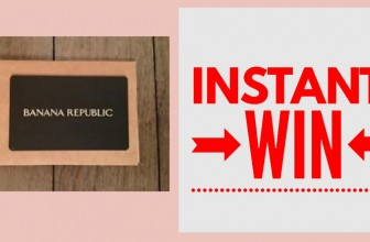 INSTANT Win! Daily Winners ! Banana Republic Gift Card!
