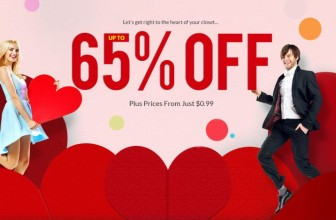 Valentine's Day Sale – Up to 65% OFF Plus Win Up to $50!