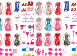 120 Pc Barbie Set ONLY $2.50 SHIPPED!