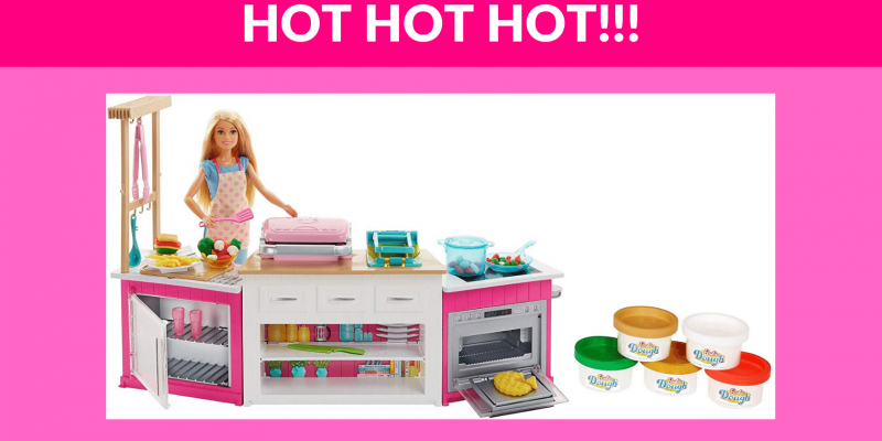 OMG! 50% OFF Barbie Ultimate Kitchen!