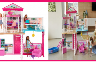 Now Nearly 60% off! Barbie Dollhouse & Furniture! Includes 3 Dolls! *FREE Shipping*
