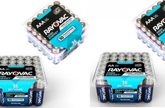 36-Pk Rayovac AA & AAA Alkaline Batteries ONLY $5.97 ! ( reg. $14.97! )