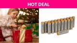 30% OFF! AmazonBasics Alkaline Batteries – Pack of 20
