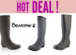 STOP EVERYTHING! BEARPAW Rainboots As Low As $7.99 [ Reg. $79 ]