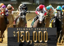 Win The Belmont Stakes $150K Sweepstakes