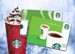 Win a $20 Starbucks Gift Card!