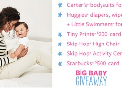 WINNER EVERYDAY! Carters BIG BABY GIVEAWAY!