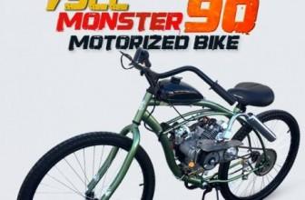 Win a Motorized Bike!