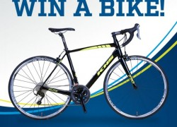 Win a bike, valued at over $1,500!