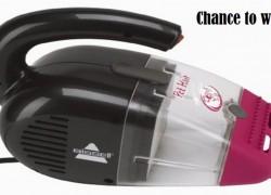 Win a Bissell Pet Hair Eraser Handheld Vacuum