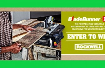 Win a BladeRunner X2 Table Top Saw