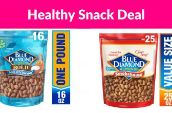 Save Up to 30% Off Blue Diamond Almonds