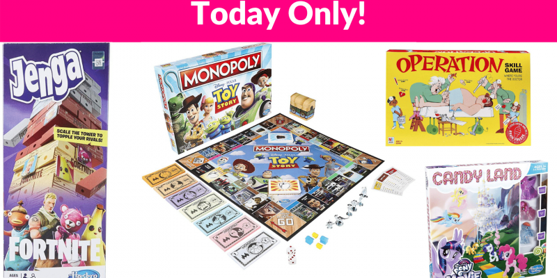 Hasbro and Monopoly Game Deals!!!