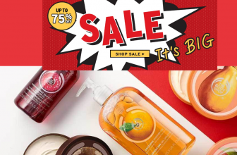 The Body Shop 75% OFF Sale and Free Shipping! Biggest Sale Of The Year !